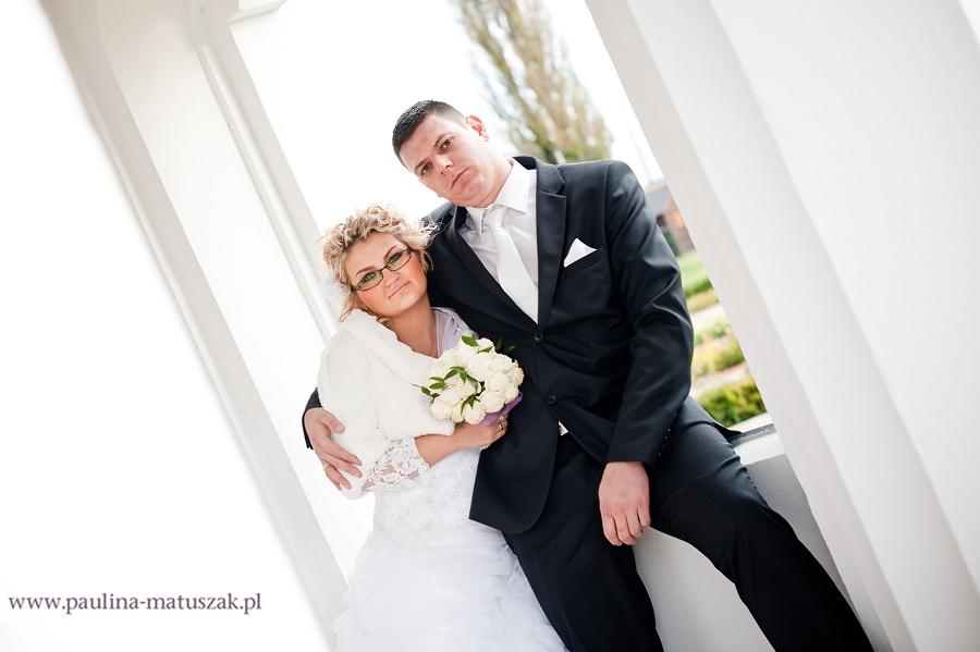 Angelika i Marek fotografia ślubna Wągrowiec