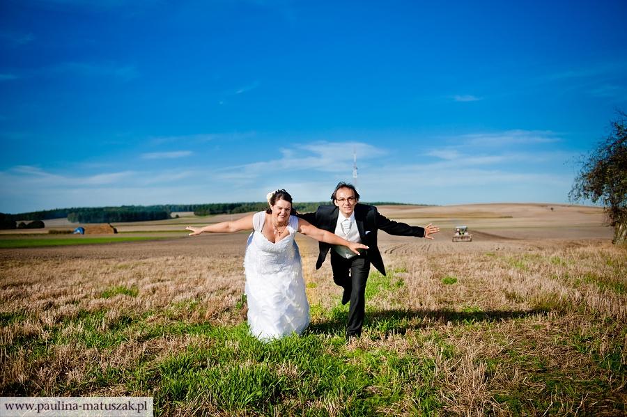 Ewa i Filip fotografia ślubna Wągrowiec