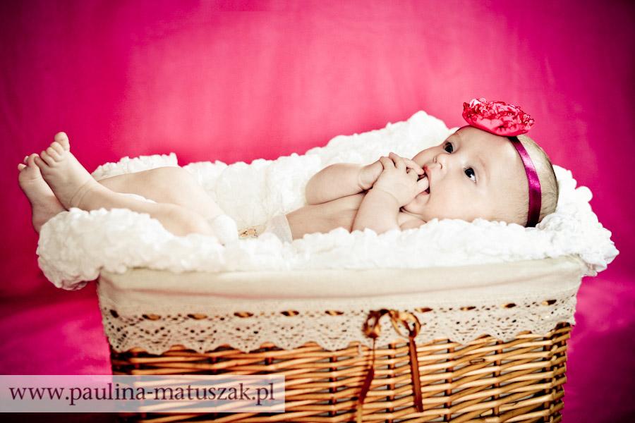 Ola Sesja niemowlęca dziecięca