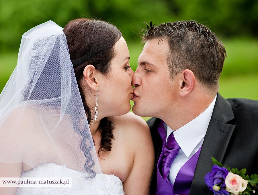 Agata i Damian fotografia ślubna Wągrowiec
