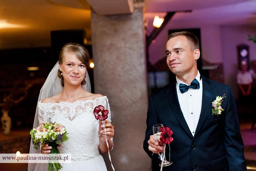 Anna i Łukasz fotografia ślubna Poznań, Wągrowiec