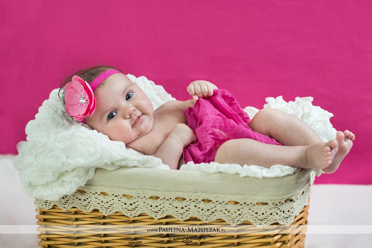 Lenka sesja niemowlęca