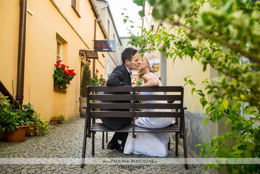 Sesja ślubna Cafe Rene Wągrowiec