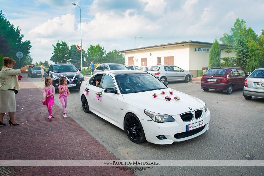 BMW ślub